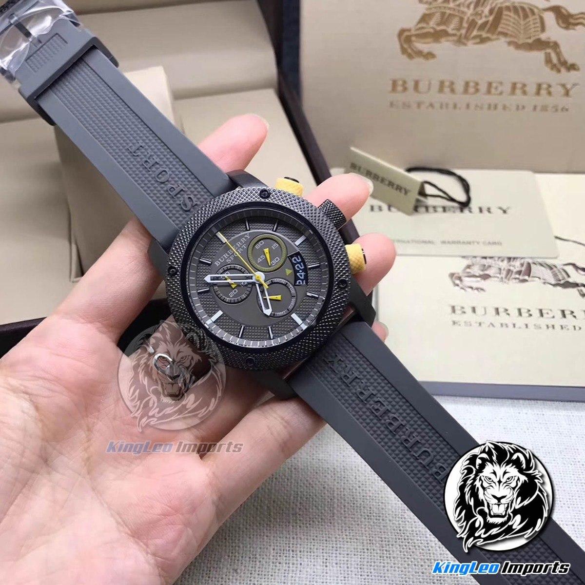 8ba7035b241 relógio masculino burberry sport c  caixa+manual+certificado. Carregando  zoom.