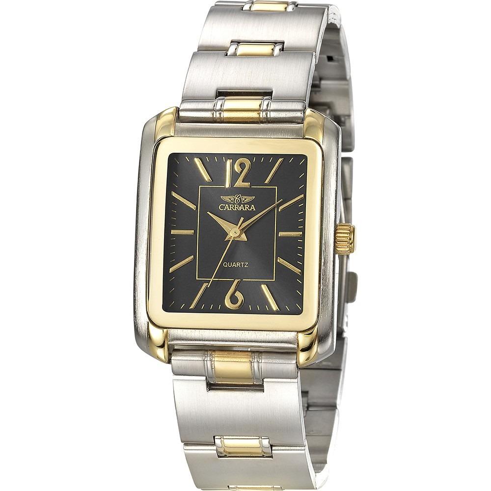 5b8f9cbb1b0 relógio masculino carrara analógico clássico rr20486p. Carregando zoom.