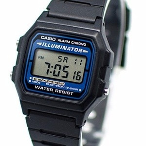 34b29a77de41 Relógio Masculino Casio Illuminator F 105 W 1adf Preto Novo - R  89 ...