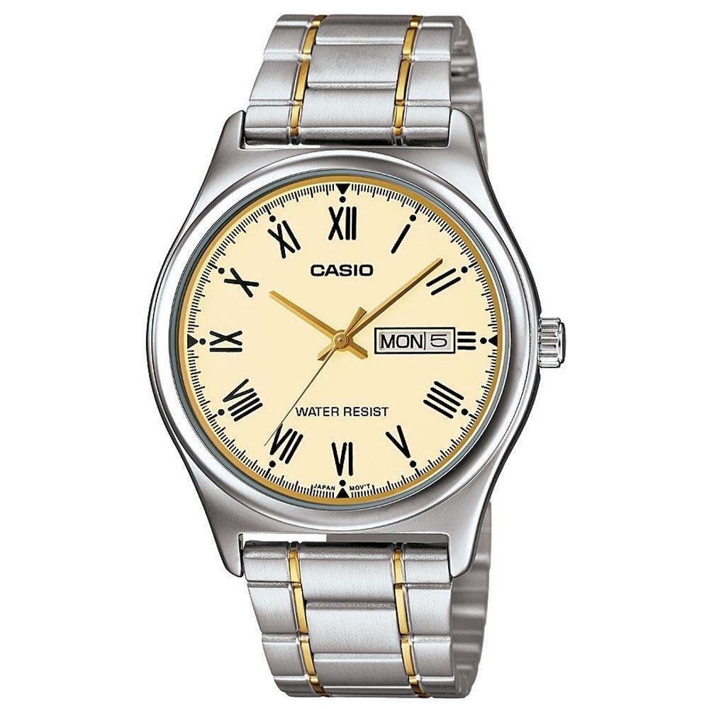 1fae6e42862 Relógio Masculino Casio Analógico Mtp-v006sg-9budf Prata - R  219