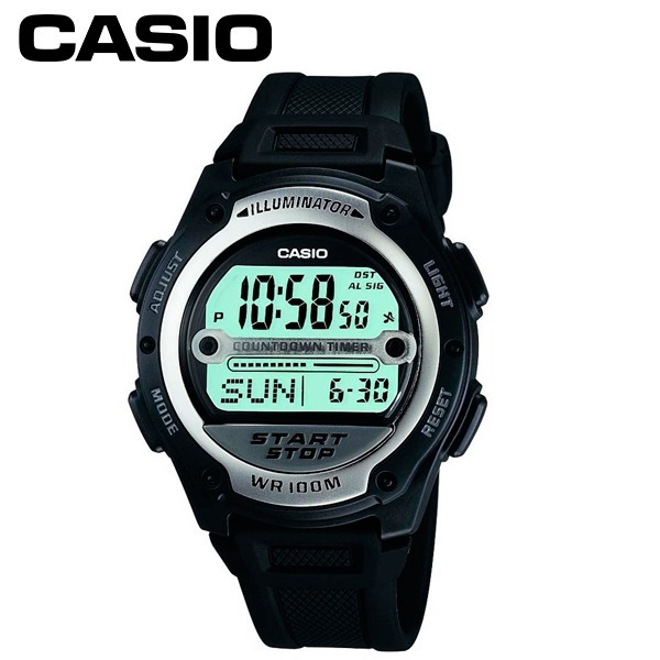7e8b7631d69 Relógio Masculino Digital Casio Inox preto