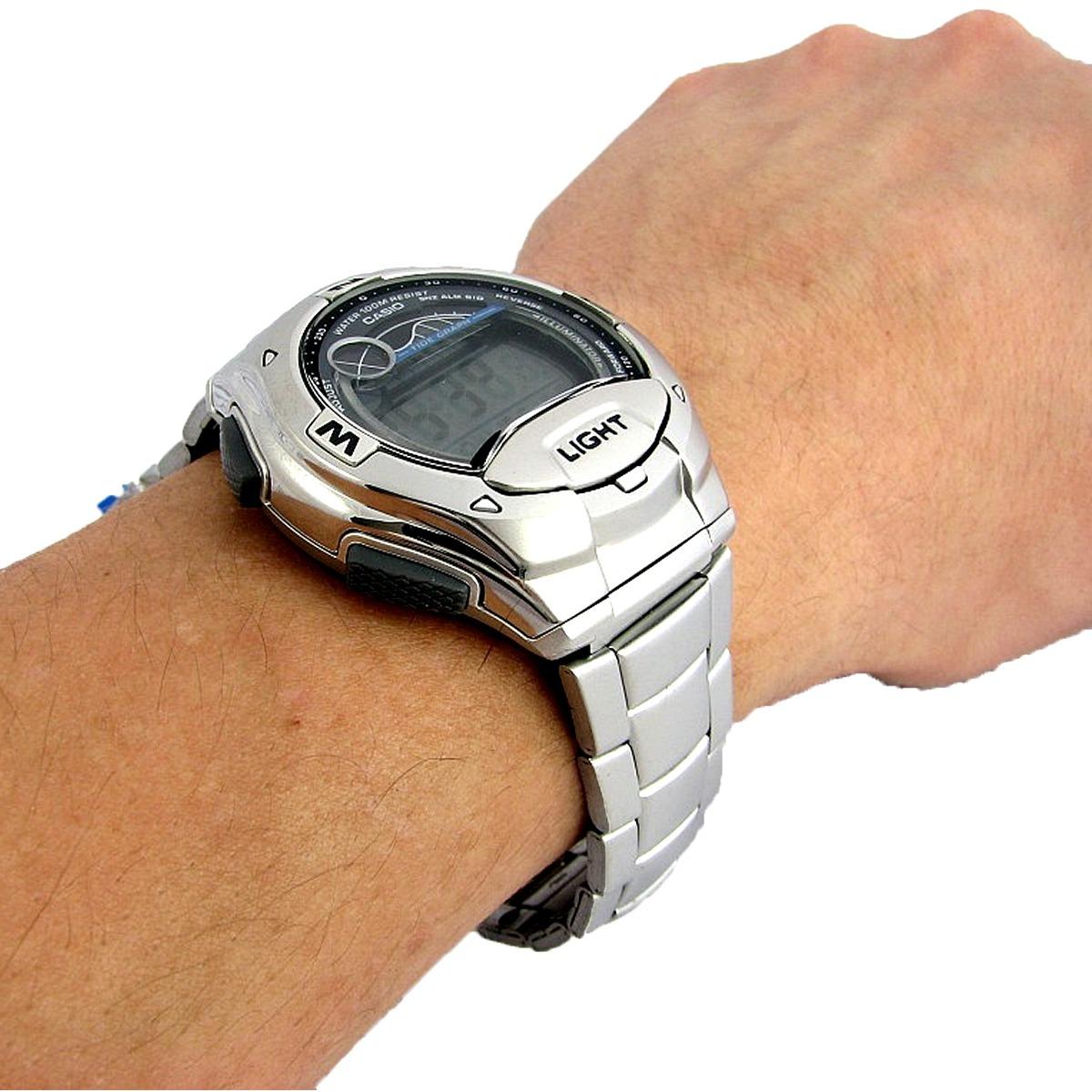 Relógio Masculino Digital Casio W-753d-1avdf - Prata - R  269,49 em ... ede8221697