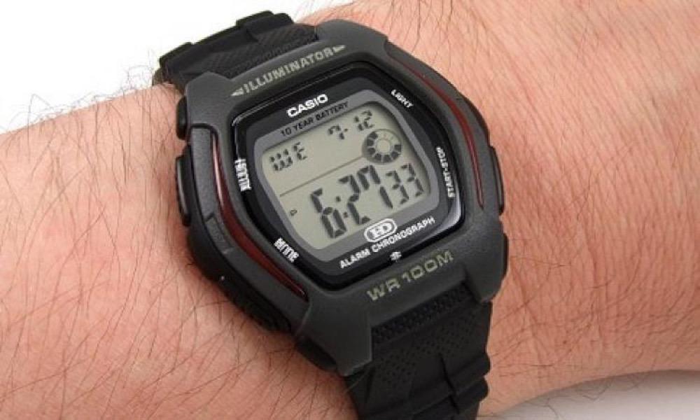 41501372f8c Relógio Masculino Digital Casio Hdd-600-1avdf - Preto - R  120