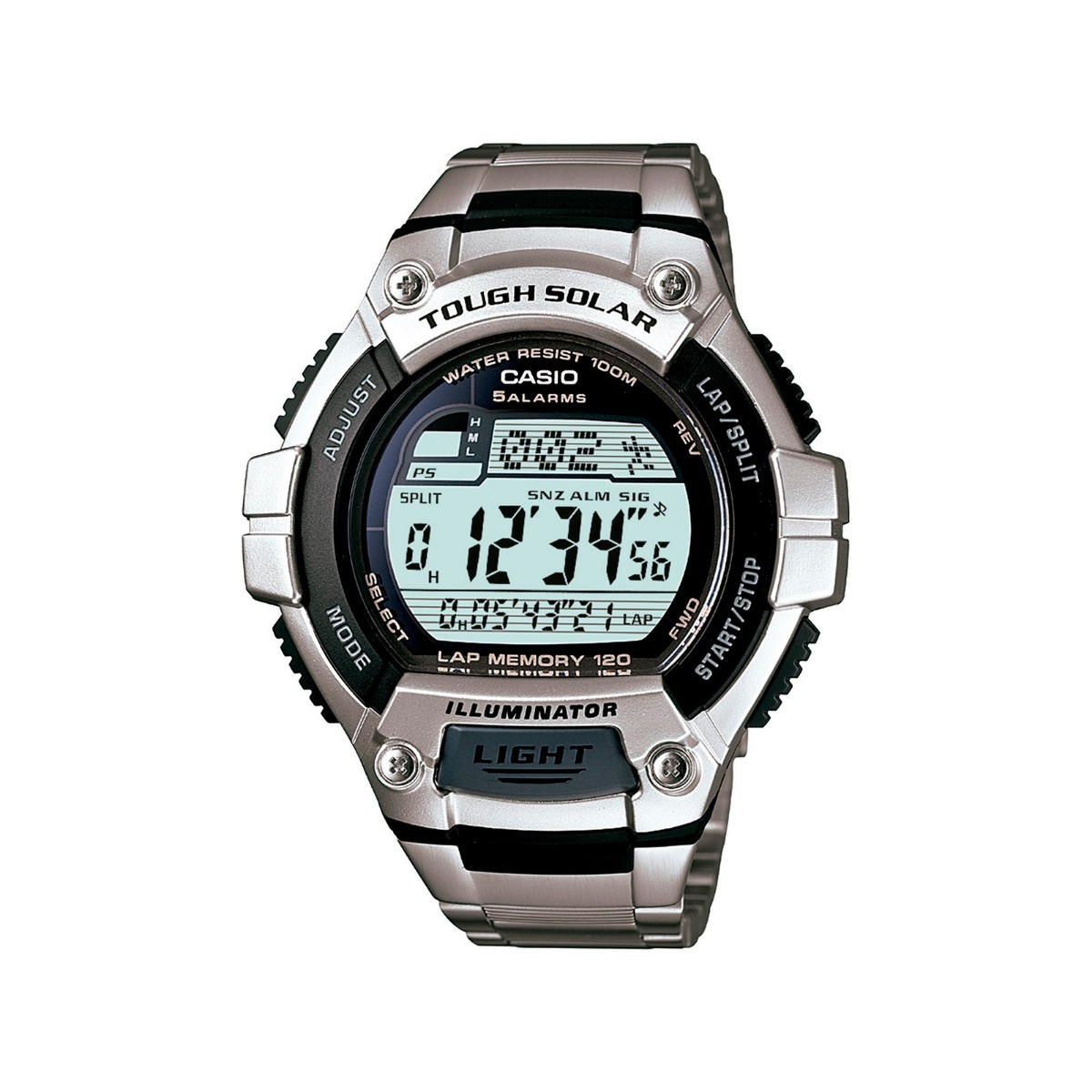 71f5f191424 Relógio Masculino Casio W-s220d-1av Original Solar Esportes - R  214 ...