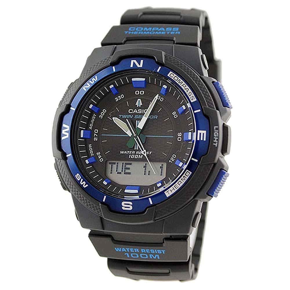7757f1de17c Relógio Masculino Anadigi Casio Out-gear Sgw-500h-2bvdr Azul - R ...