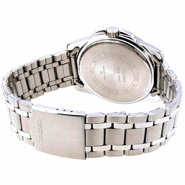4593bc6a644 Relógio Masculino Casio Analógico Aço Azul 100%original Wr50 - R ...