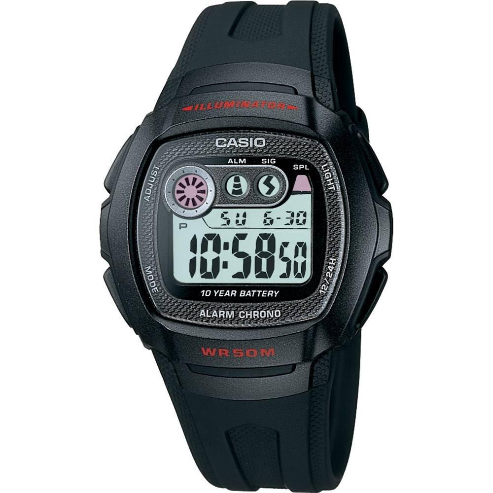 b62e2fce98f Relógio Masculino Casio Digital Esportivo Preto W-210-1cvdf - R  219 ...
