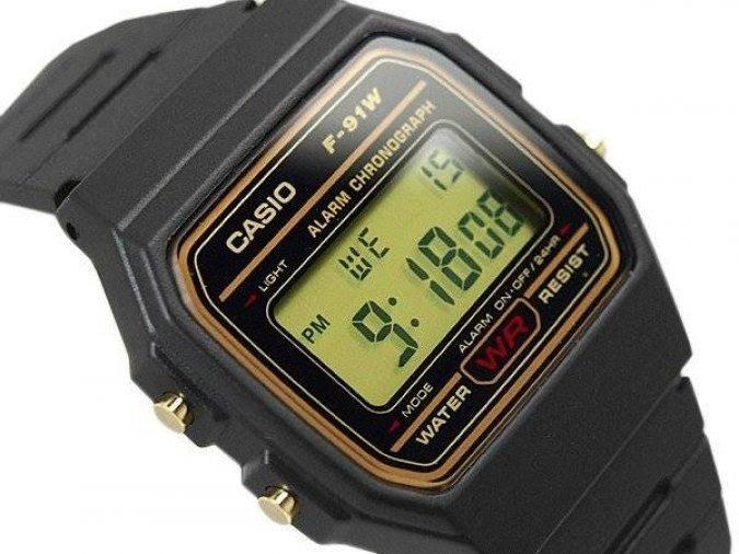 1c56dcd9968 Relógio Masculino Casio Digital Vintage F-91wg-9qdf C nf-e - R  99 ...