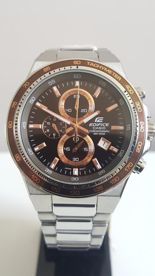 42784e35c37 relógio masculino casio edifice ef-546d-5avdf aço original. Carregando zoom.