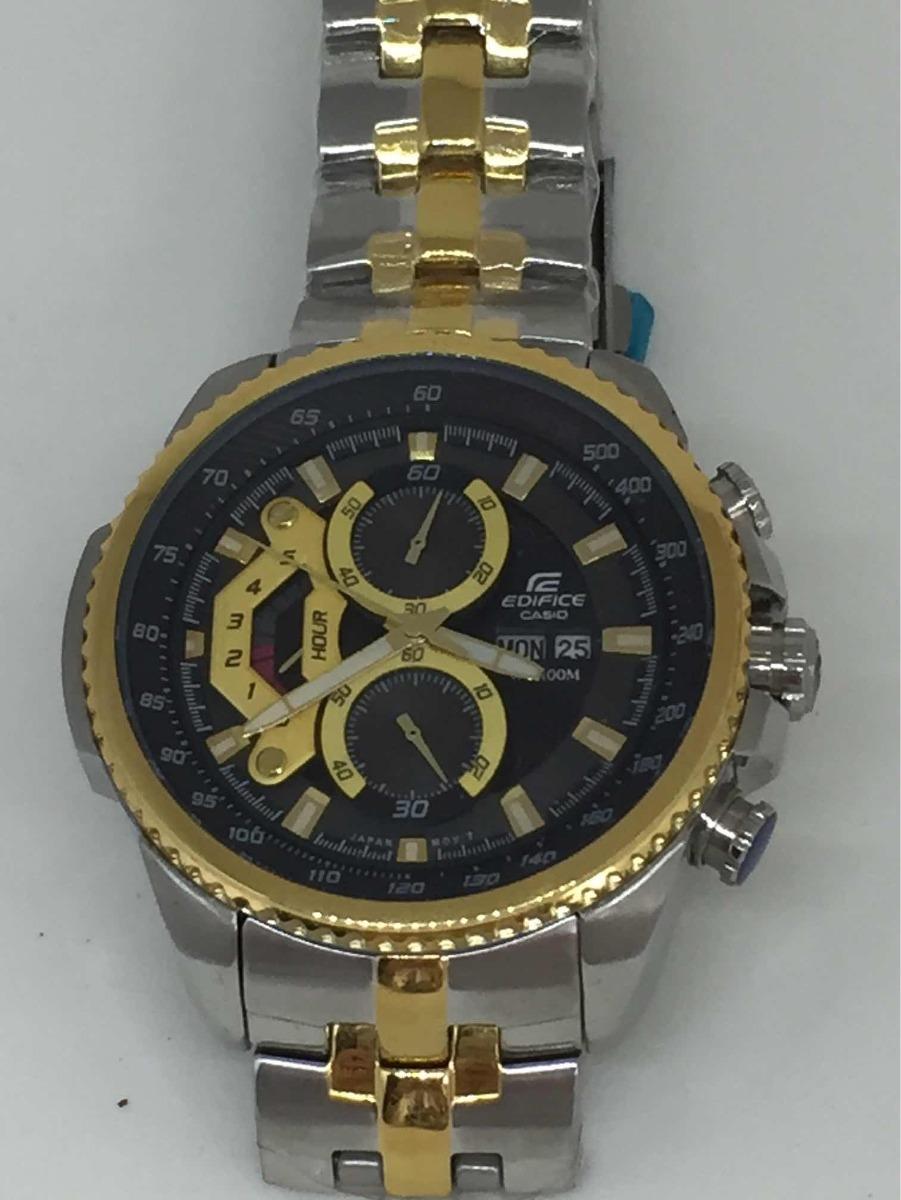 2fb350b83c75 relógio masculino casio edifice ef558 prata e dourado. Carregando zoom.