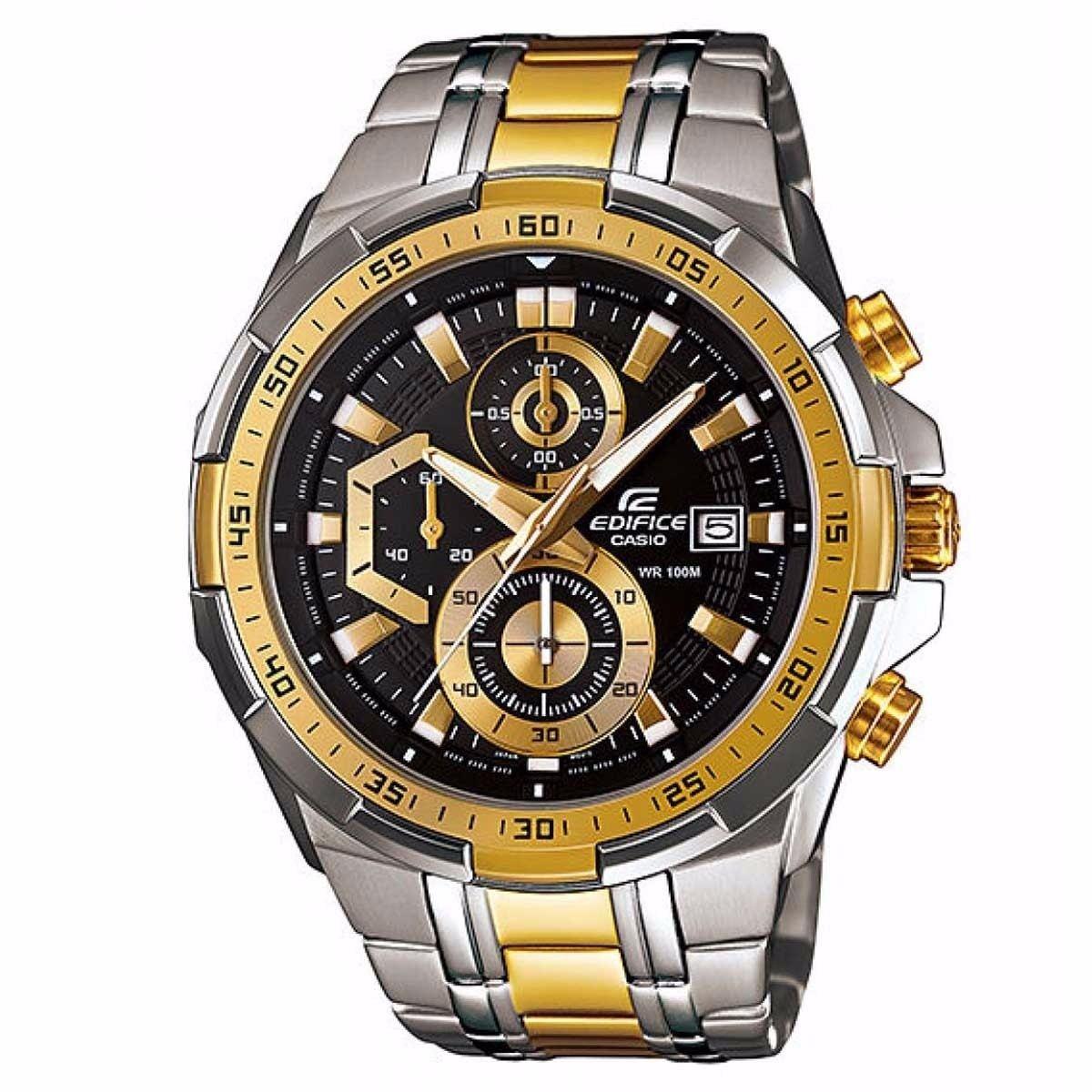 6d2a0555ae4 Relógio Masculino Casio Edifice Efr-539zsg-1av 55mm Prata E - R  929 ...