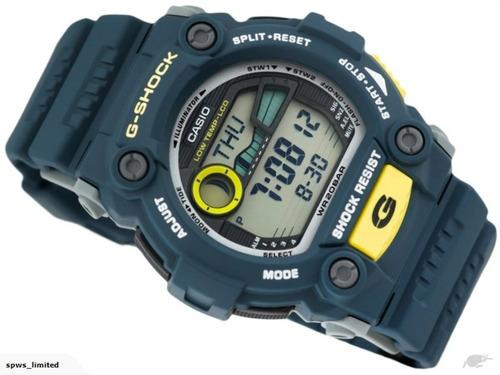 relógio masculino casio g-7900 g-shock   marés fases da lua