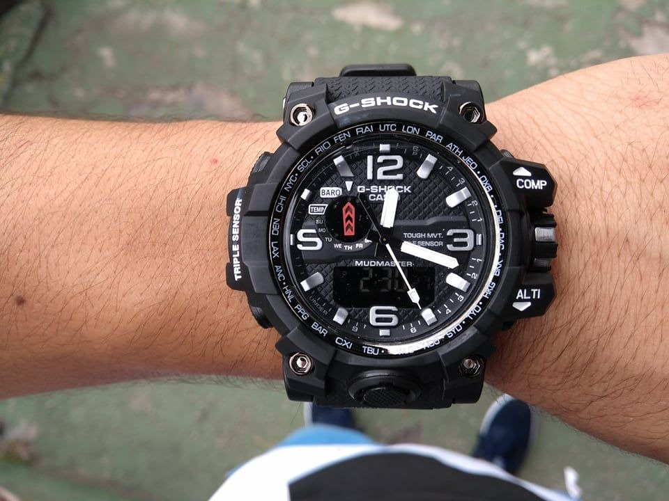 32cfba8dc7f relógio masculino casio g-shock anadigi ga-100cm-5adr. Carregando zoom.