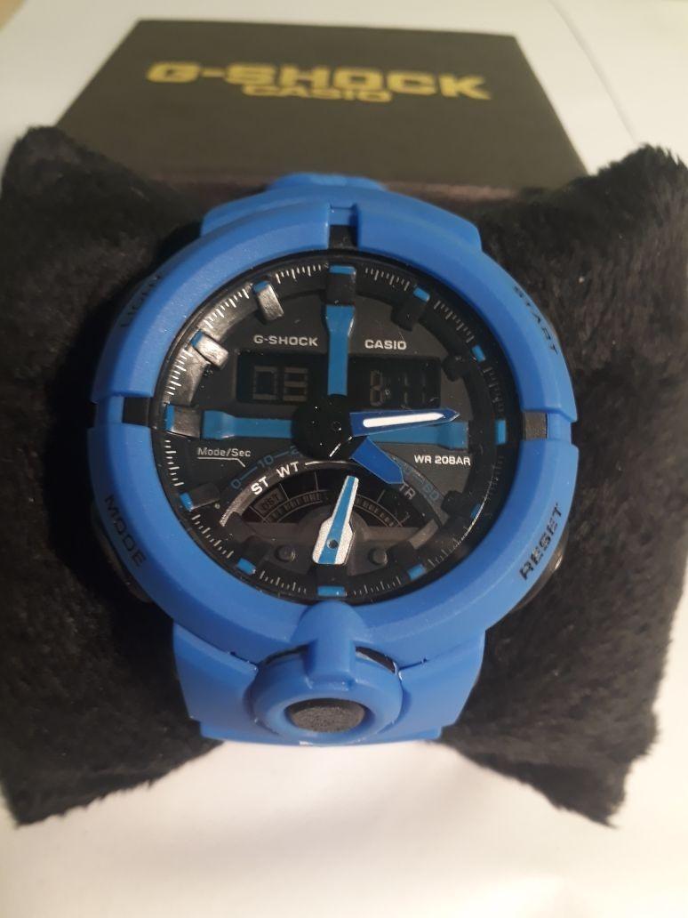 39500d420cd relógio masculino casio g-shock azul wr20bar. Carregando zoom.
