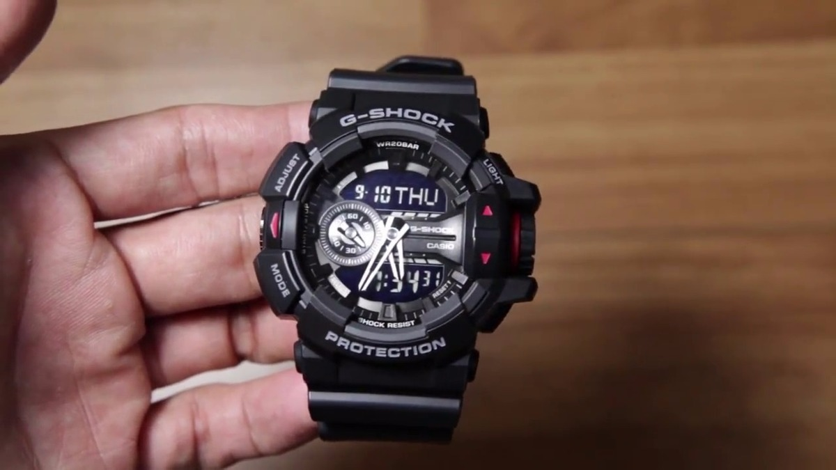 5e8f7130753 relógio masculino casio g-shock ga-400-1b original ga400. Carregando zoom.