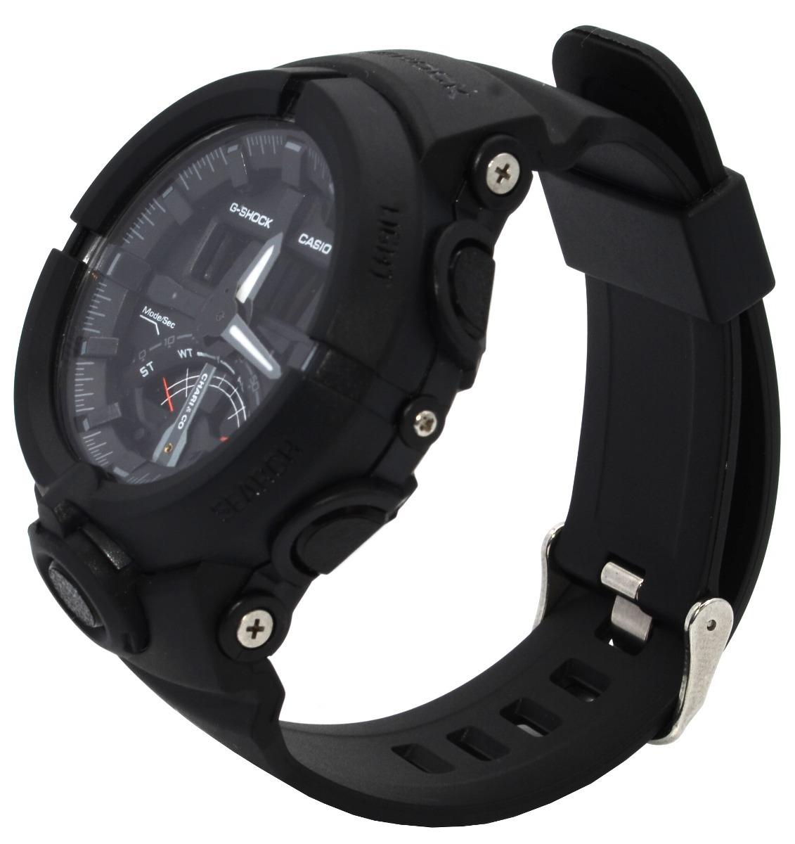 3a751b6871f relógio masculino casio g-shock ga-500 preto lancamento!! Carregando zoom.