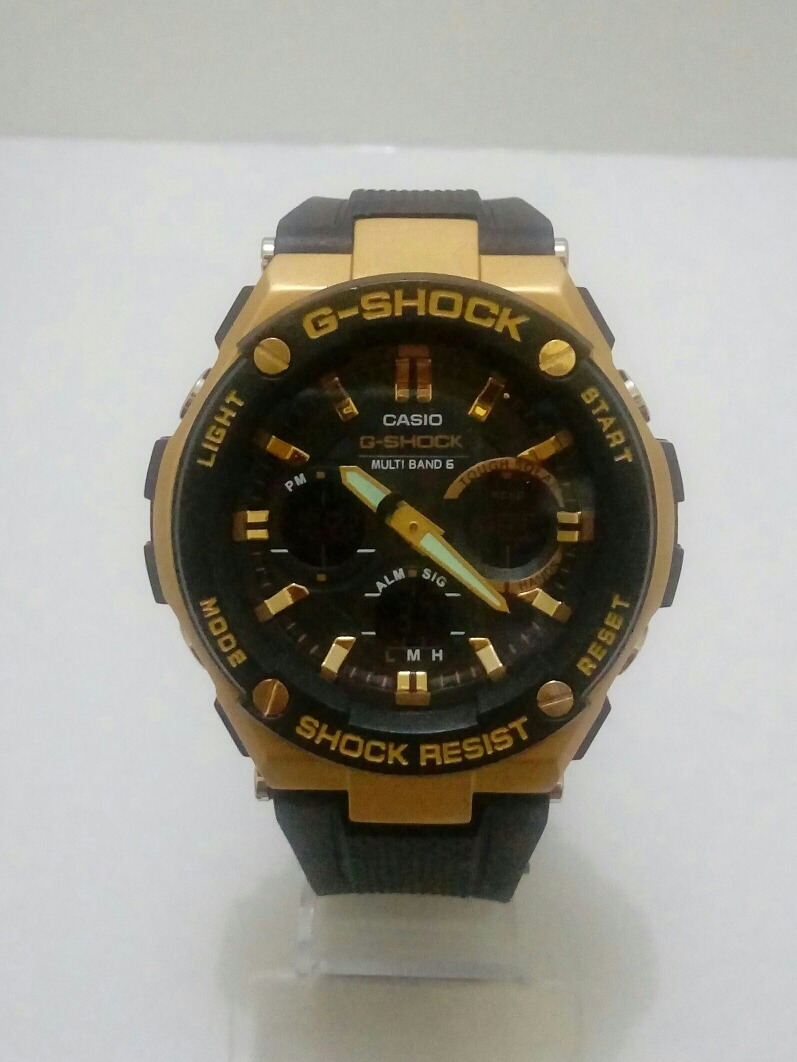 611b4be67c0 relógio masculino casio g shock ga110 preto ouro. Carregando zoom.