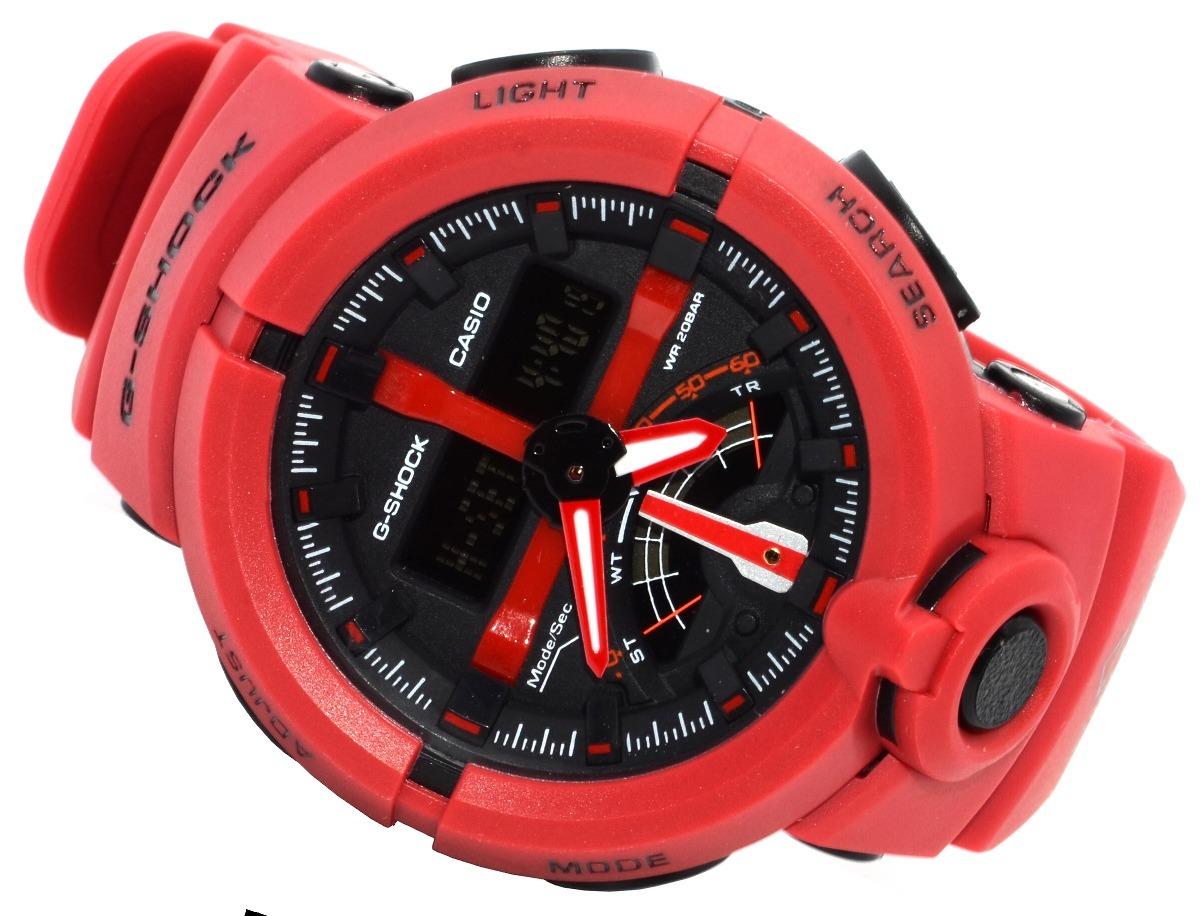 a75182fe4ed relógio masculino casio g-shock ga500 vermelho lançamento!!! Carregando zoom .