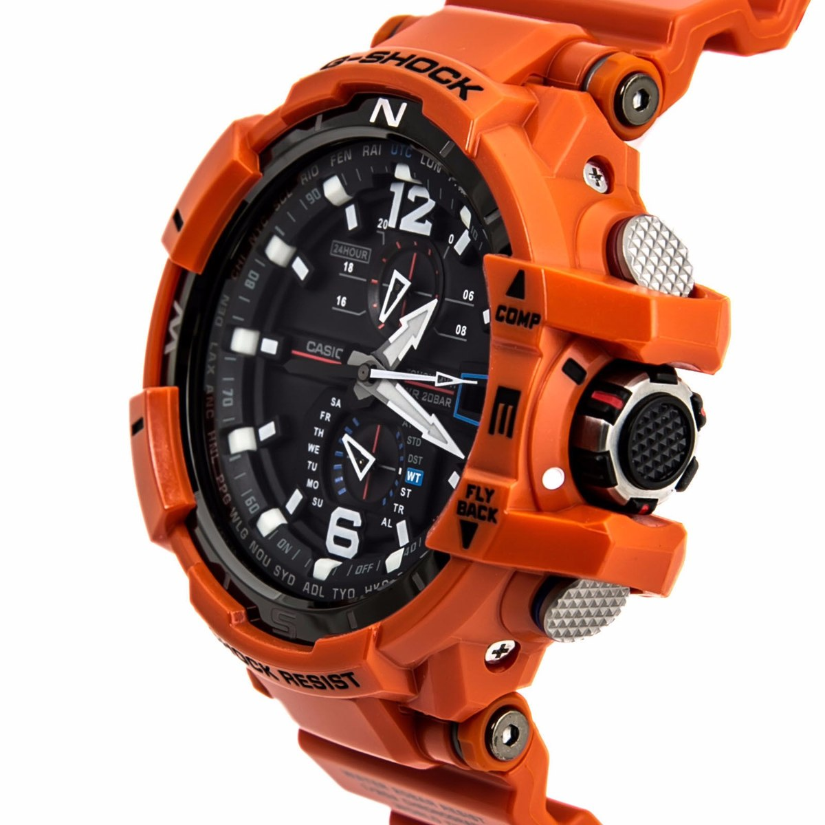d948b395da2 relógio masculino casio g-shock gravity defier gw-a1100-1a3. Carregando  zoom.