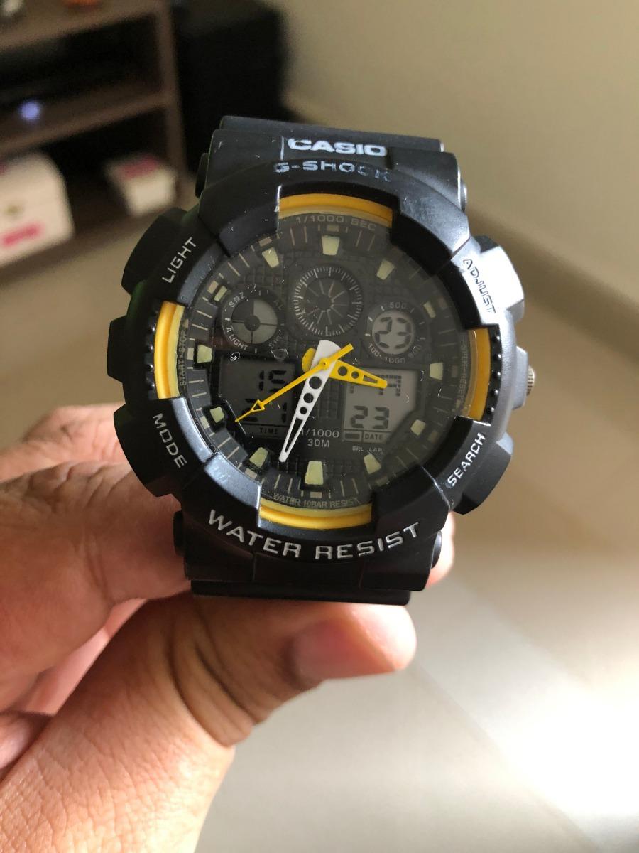 d2080b6fa67 relógio masculino casio g - shock prova d água. Carregando zoom.