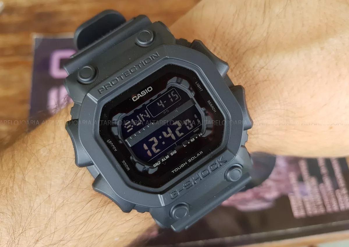 1dfebf2ab37 relógio masculino casio gshock militar gx56bb1dr. Carregando zoom.