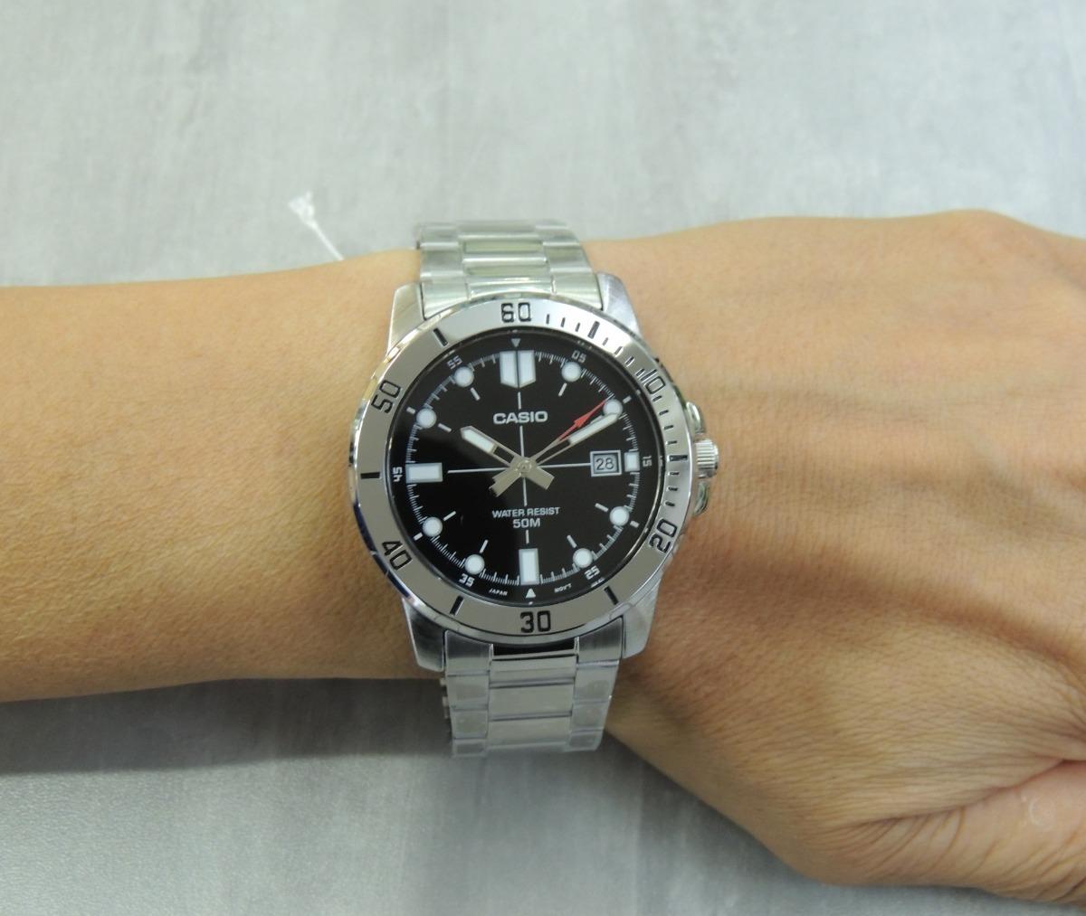 617d51c6c02 relógio masculino casio mtp-vd01d-1evudf - nfe   garantia. Carregando zoom.