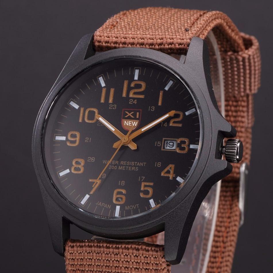 452d66ccc5d relógio masculino casual esporte função calendário pulseira. Carregando  zoom.