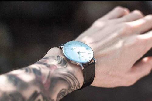relógio masculino  casual luxo geneva original