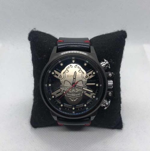 relógio masculino caveira
