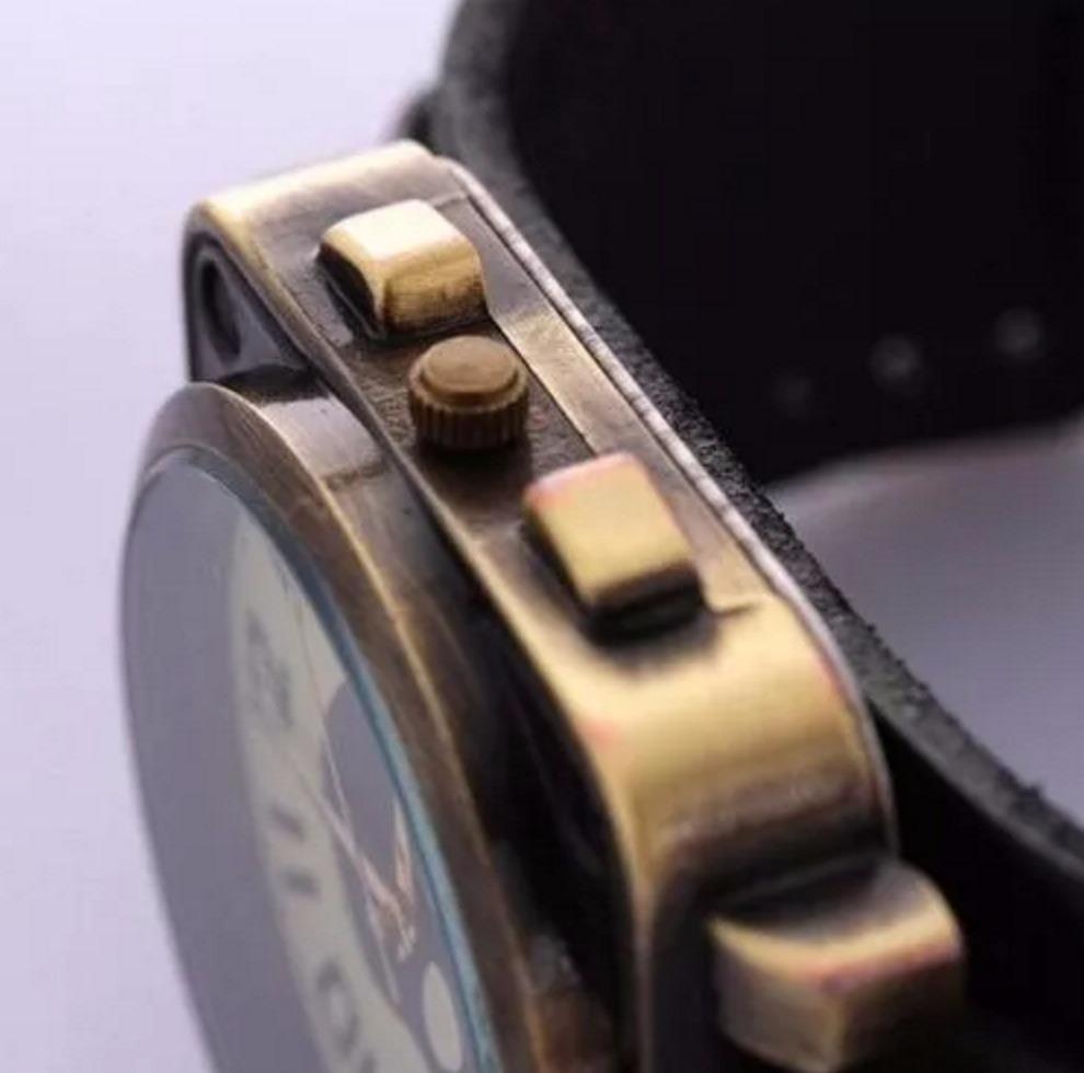 8813929875f relógio masculino caveira vintage moda casio couro +carteira. Carregando  zoom.