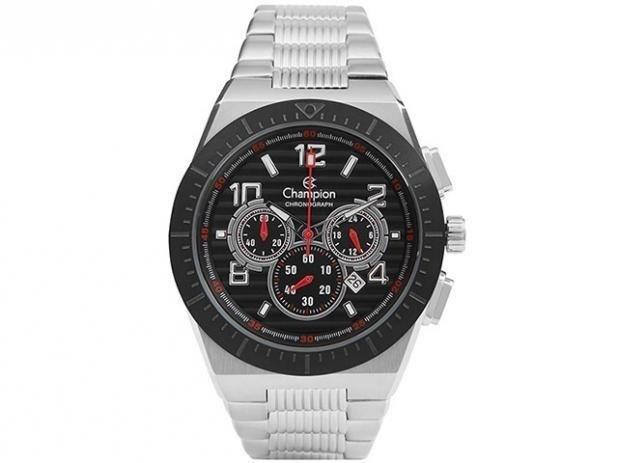 385faa857f8 Relógio Masculino Champion Chronograph Ca30749t - R  539