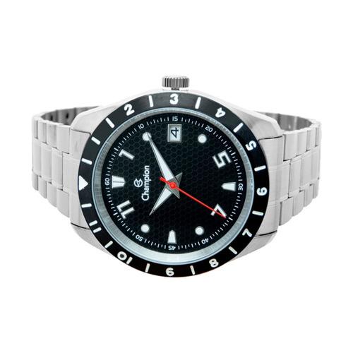 relógio masculino champion prata