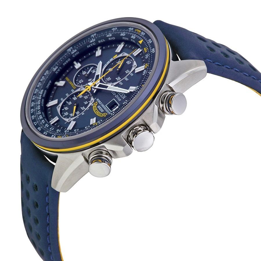 01722343494 relógio masculino citizen eco-drive blue angels - at8020-03l. Carregando  zoom.