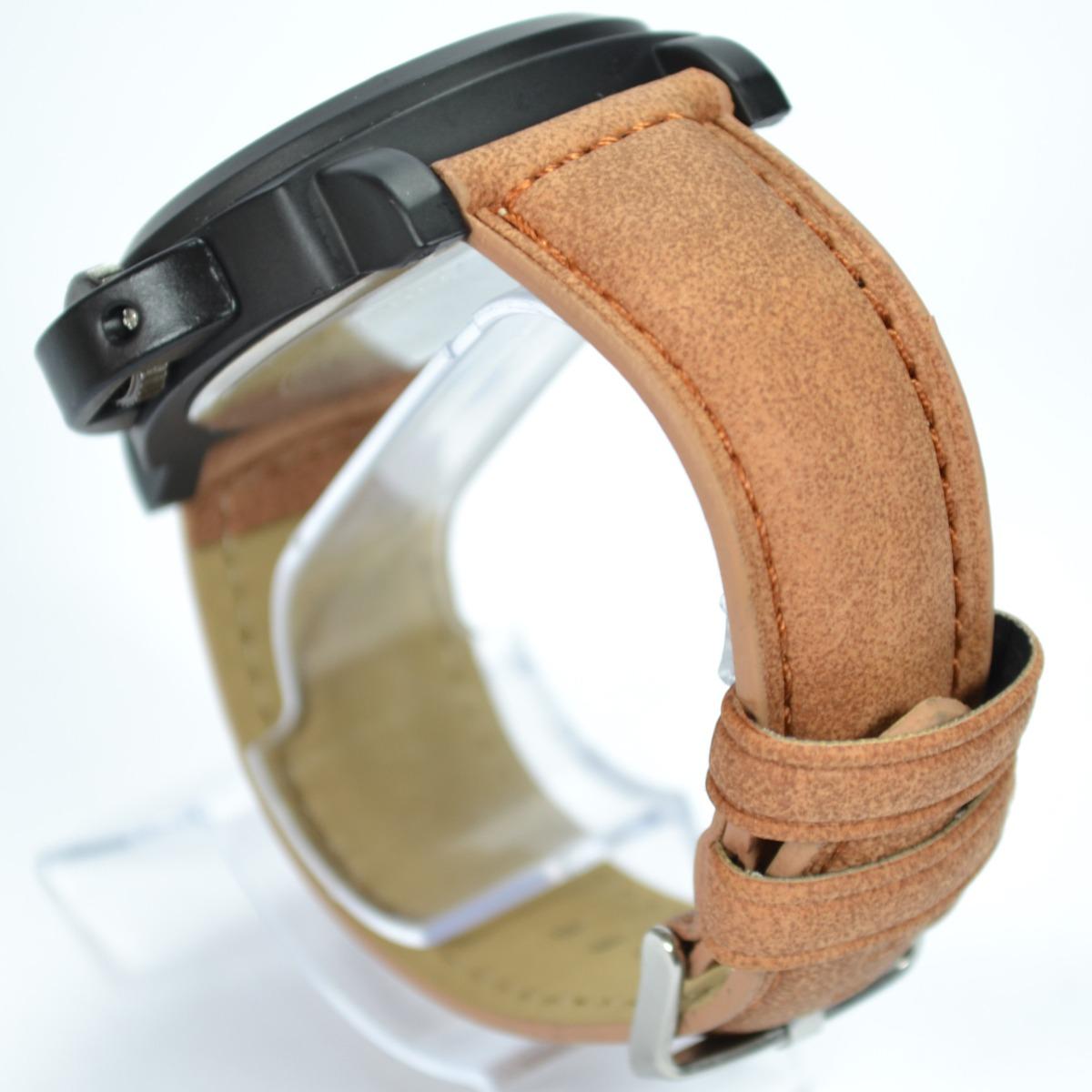 eaf06b8eaa2 relógio masculino ck caramelo analógico couro luxo social. Carregando zoom.