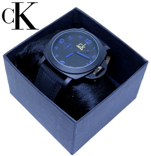 relógio masculino ck lançamento camurça na caixa promoção!!