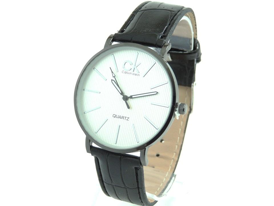 1da8d18fb51 relógio masculino ck social branco de couro frete grátis. Carregando zoom.