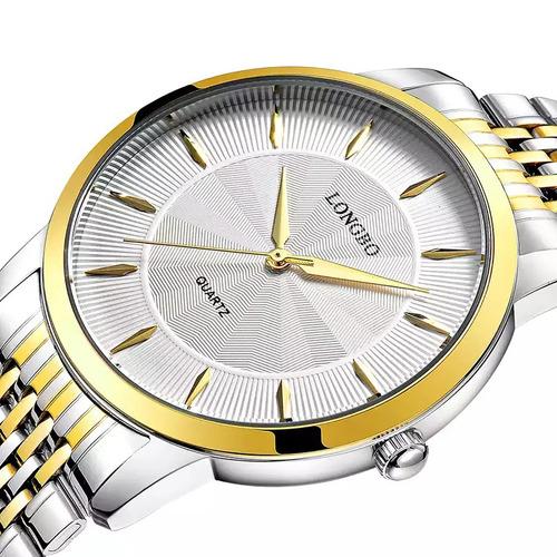 relógio masculino clássico social luxo original