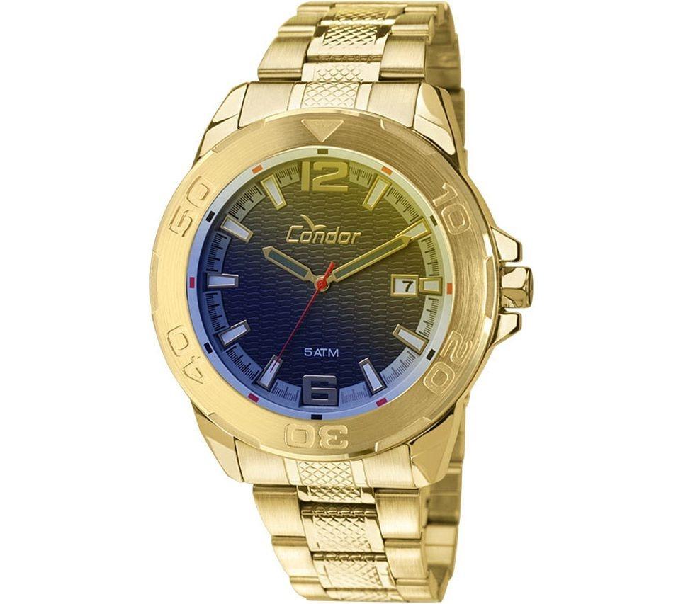 412dd1f1ddf Relógio Masculino Grande Condor Civic Co2415ak 4a Dourado - R  229 ...