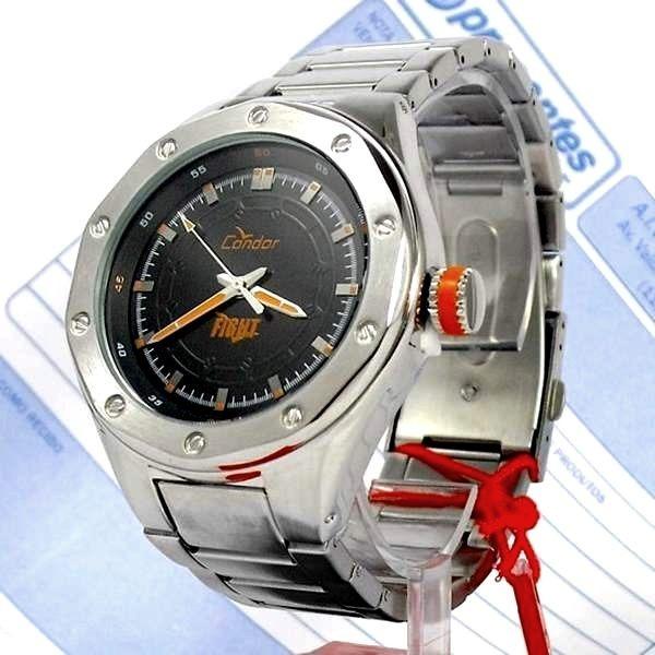 0db87df49c9 Relógio Masculino Condor Figth Aço Inox Ko25835p Wr50 43mm - R  271 ...