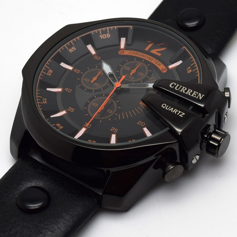 e15a698d265 relógio masculino curren 8176 original barato luxo. Carregando zoom.