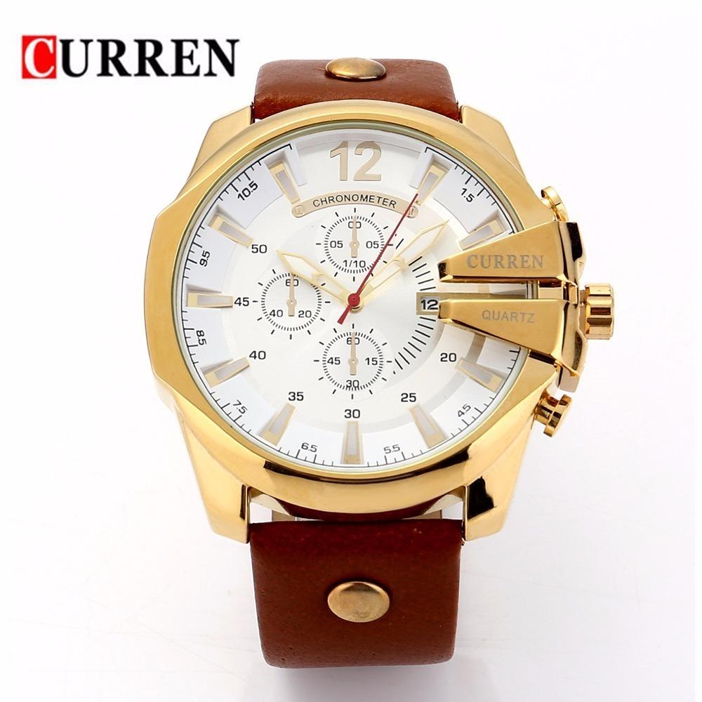 991ef83f214 relógio masculino curren 8176 original barato luxo. Carregando zoom.
