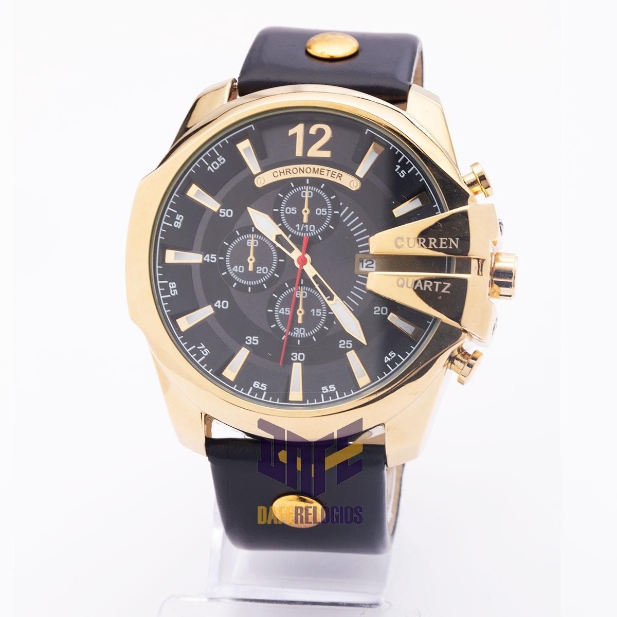 202a4638822 Sem Estoque Relógio Masculino Curren 8176 Original - R  450
