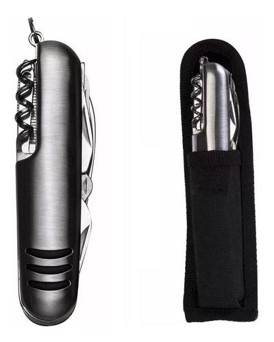 relógio masculino curren cronógrafo esportivo + canivete