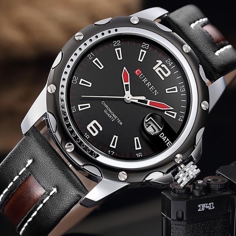 df48a748b83 relógio masculino curren de luxo 8104 promoção barato. Carregando zoom.