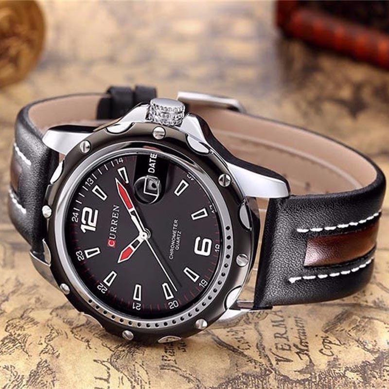 3e29c1aabea relógio masculino curren esporte fino original em oferta. Carregando zoom.
