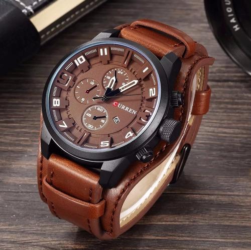 relógio masculino curren +puls