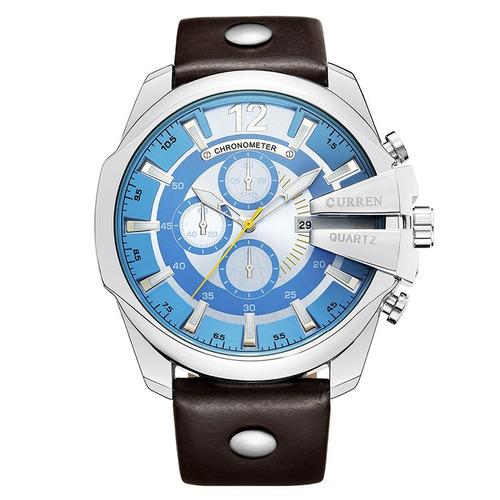 91e645b5626 relógio masculino curren quartzo esportes luxo 2018. Carregando zoom.