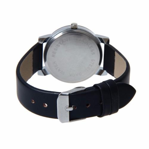 relógio masculino de couro 2016 - frete grátis