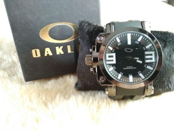 231a3f95797 Relógio Masculino De Luxo Top Oakley Gearbox Frete Gratis - R  65