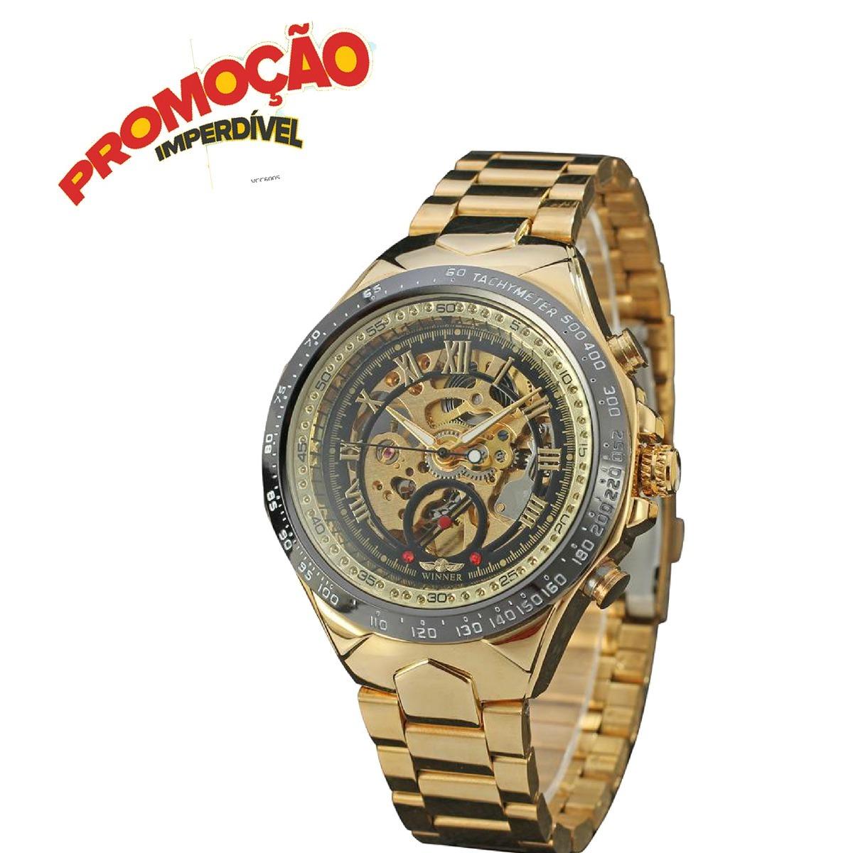 2ef2a533494 relógio masculino de pulso barato relógios jóias promoção ! Carregando zoom.